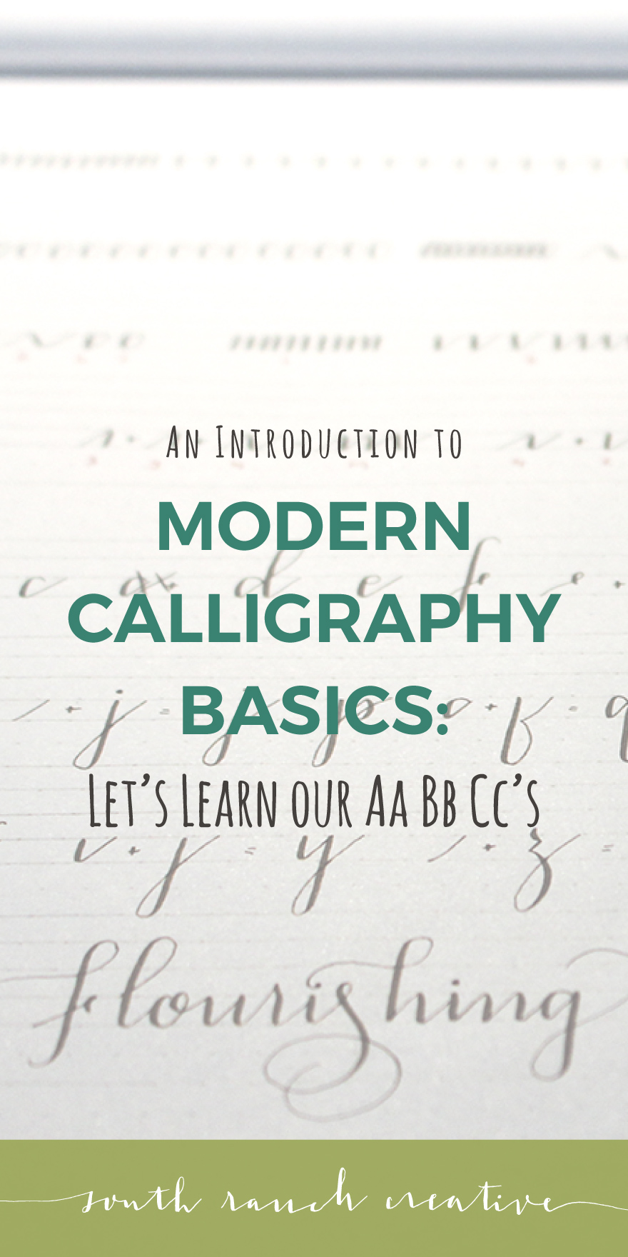 In This Third And Final Lesson For Beginner Modern Calligraphy You Will Learn Your Uppercase