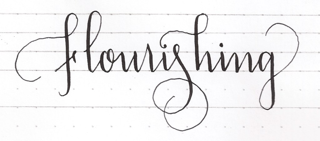 How to create flourishes | Modern Calligraphy Basics