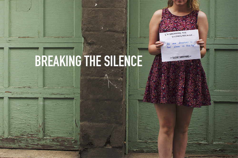 Breaking the Silence Campaign for Nonprofit, Silent Survivors | by South Ranch Creative
