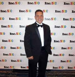 Joseph Garzi at the Inc. 500|5000 Conference and Awards Ceremony