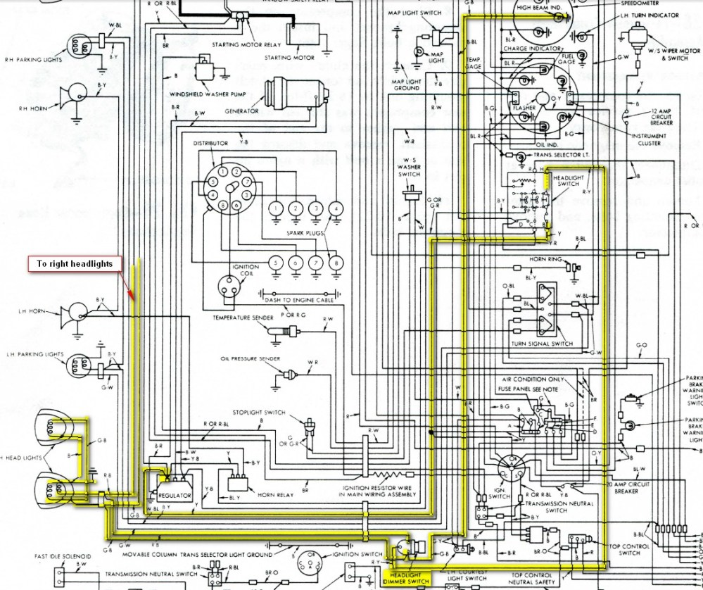 medium resolution of 1962 thunderbird fuse box