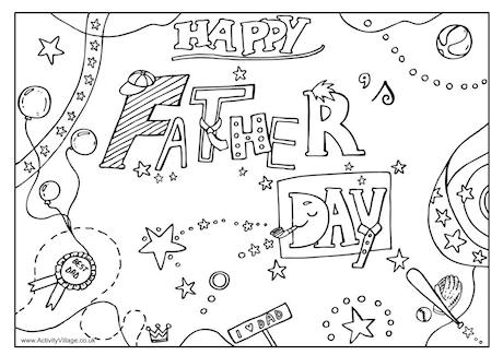 Father's Day Fill-in Printables