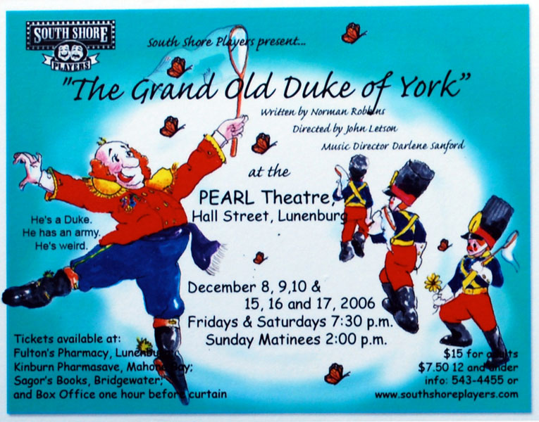 grand-old-duke-of-york-poster