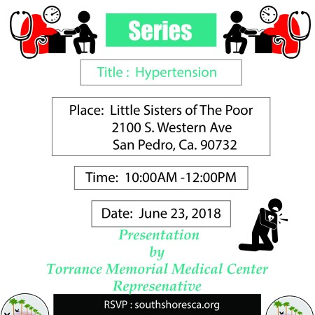 Hypertension workshop flyer