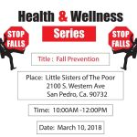Fall Prevention Workshop March 10