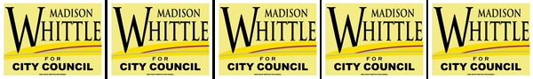Madison Whittle for Danville City Council