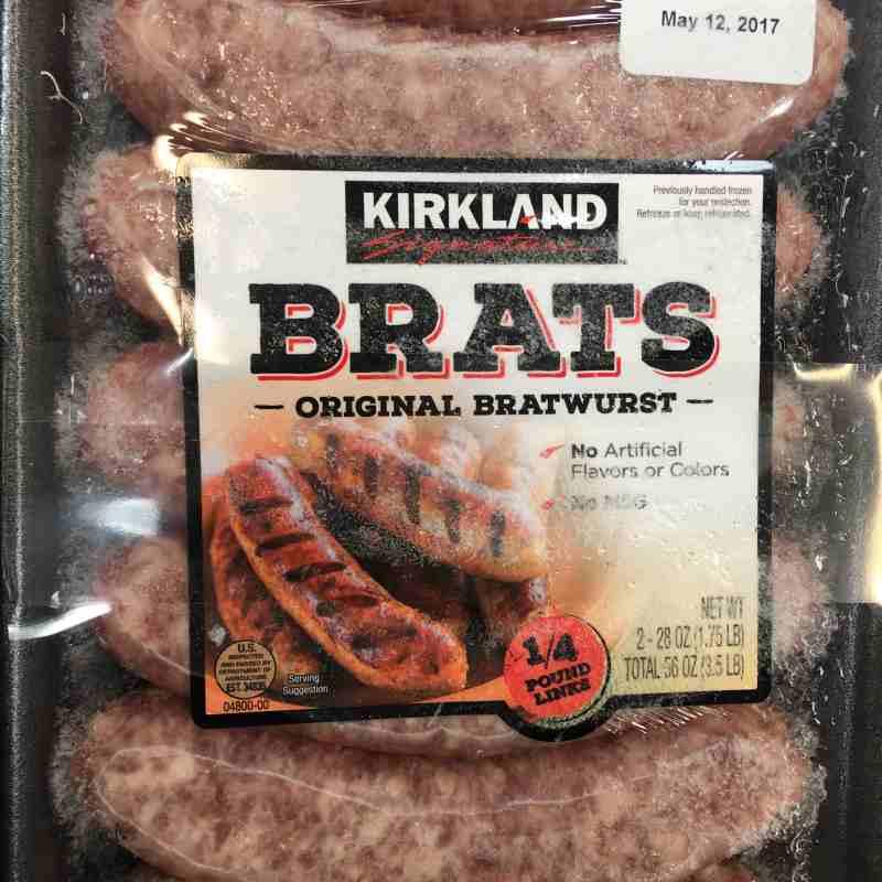 Costco Bratwurst