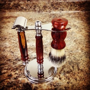 Ronnie and Sue shaving kit