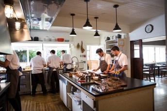 Willows Inn Kitchen