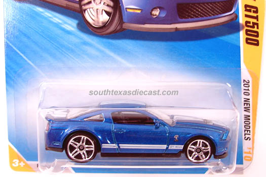 Hot Wheels Guide 10 Ford Shelby GT500