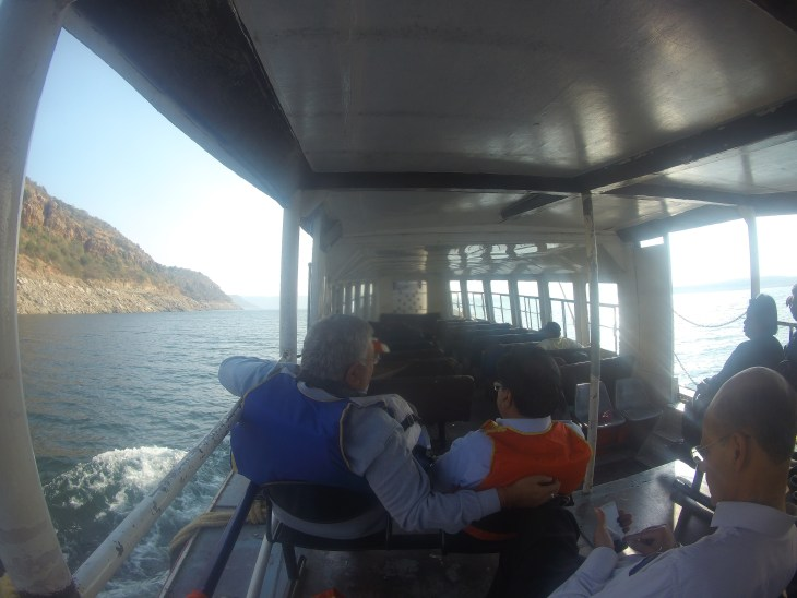 Nagarjunakonda Ferry ride