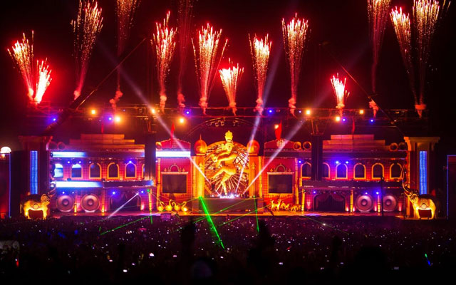 New Year Sunburn Festival in Goa