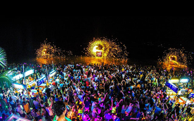 New Year celebration in Pondicherry