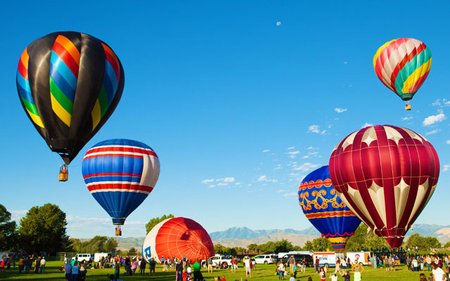 International Hot Air Balloon Festival in Araku Valley near Visakhapatnam