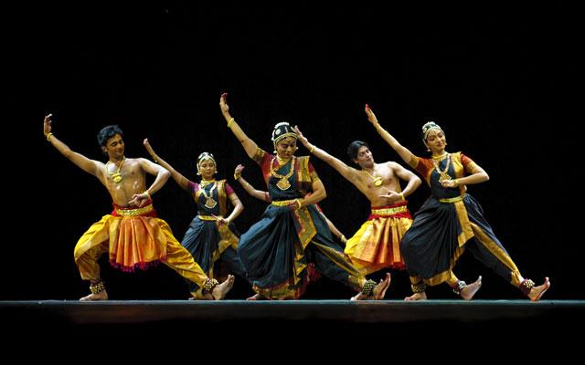 "Indian folk dance ""Shankara Sri Giri"" performed by Kalakshetra dance institute of India"