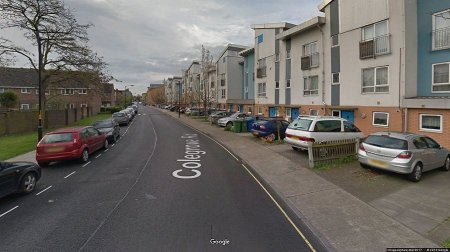 Generic view of Colegrove Road in Peckham (Google street view)
