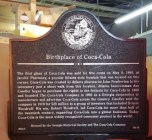 The Birthplace of Coca Cola