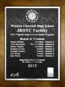 Winston Churchill High School JROTC Facility