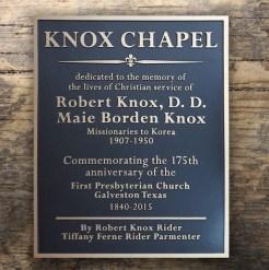 Knox Chapel