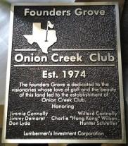Founders Grove Onion Creek Club