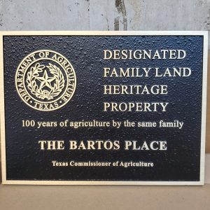 Family Land Heritage Concealed Stud - The Bartos Place