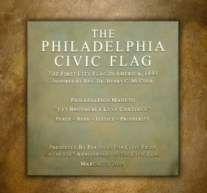 The Philadelphia Civic Flag