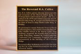 """26"""" h x 24: w Bronze single border plaque made for the Martin Luther King Plaza in San Antonio Tx."""