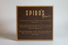 Spiro's Plaque