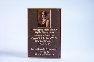 gypsy-ted-sullivan-classroom-dedication-bronze-plaque-with-uv-print-insert