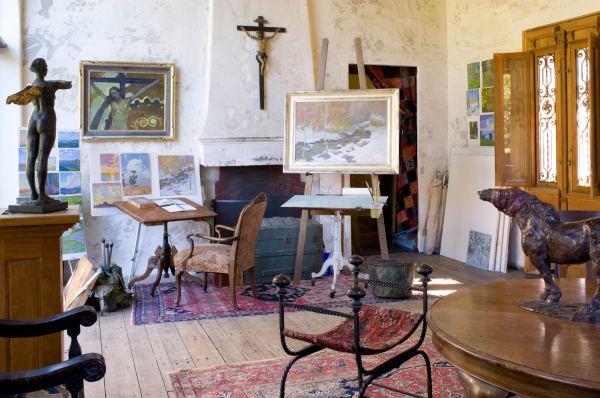 Artists' Studio Daniel Pinkham - Southwest Art Magazine