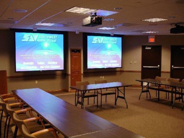 Training Room AV Design and Installation  Southwest Audio