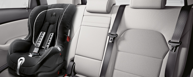 Mercedez Benz Car Seat Safety Inspection