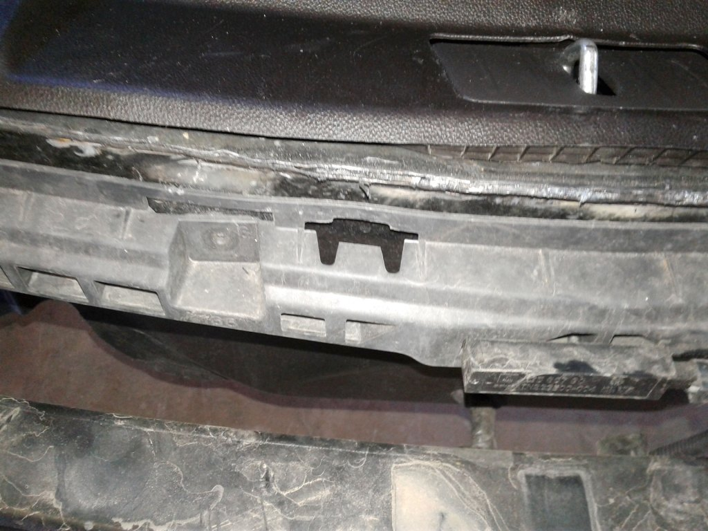 Pre-Purchase Inspection -Trunk Damage