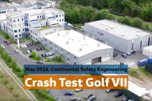 Crash Test of Volkswagen Golf