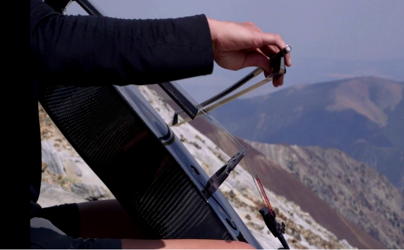 cellist Ruth Boden plays at 10,000 feet