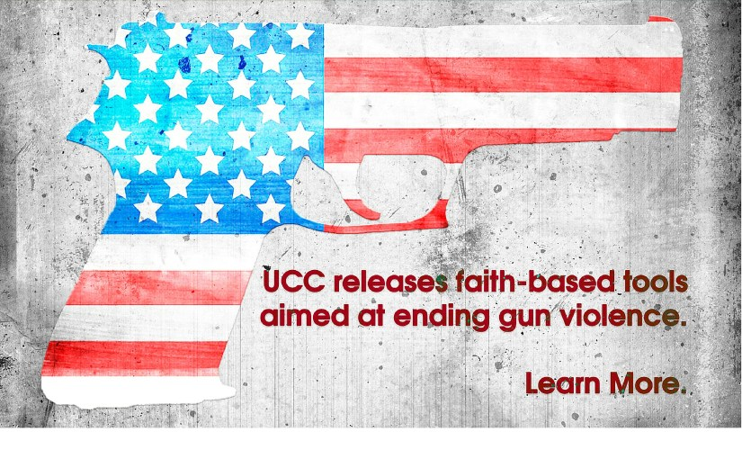 UCC releases faith-based tools aimed at ending gun violence
