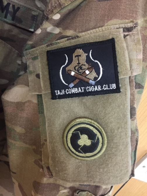 taji combat cigar club patch