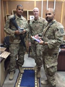 helping soldiers with care packages