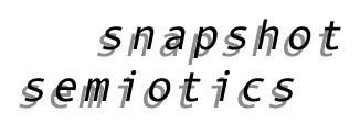 snapshot semiotics project overview