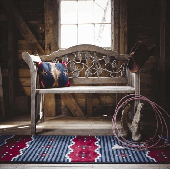 southwestern rug photo