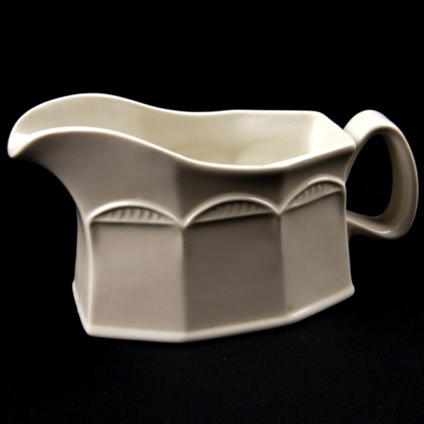 GRAVY BOAT White Crockery Hire