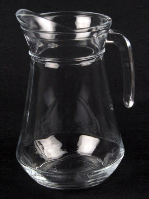 GLASS WATER JUG - 1 litre/2 pint