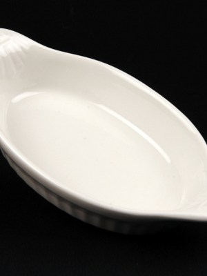 "VEG DISH - CHINA 6"" (EARED)"