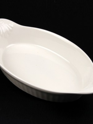 "VEG DISH - CHINA 8"" (EARED)"