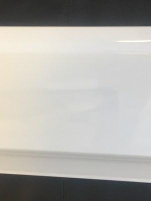 """WHITE CHINA PLATTER RECTANGULAR 14"""" x 9"""""""