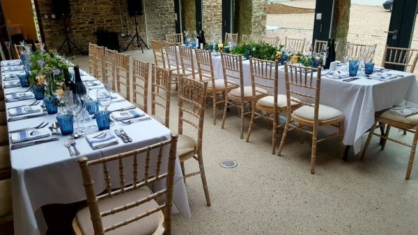 trestle tables for hire