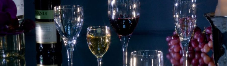 wedding party glass hire