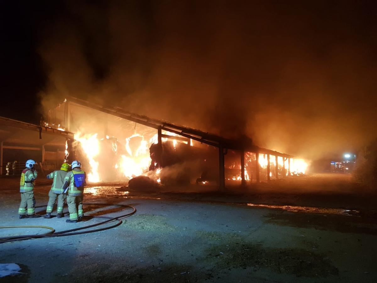 arson probe after 30