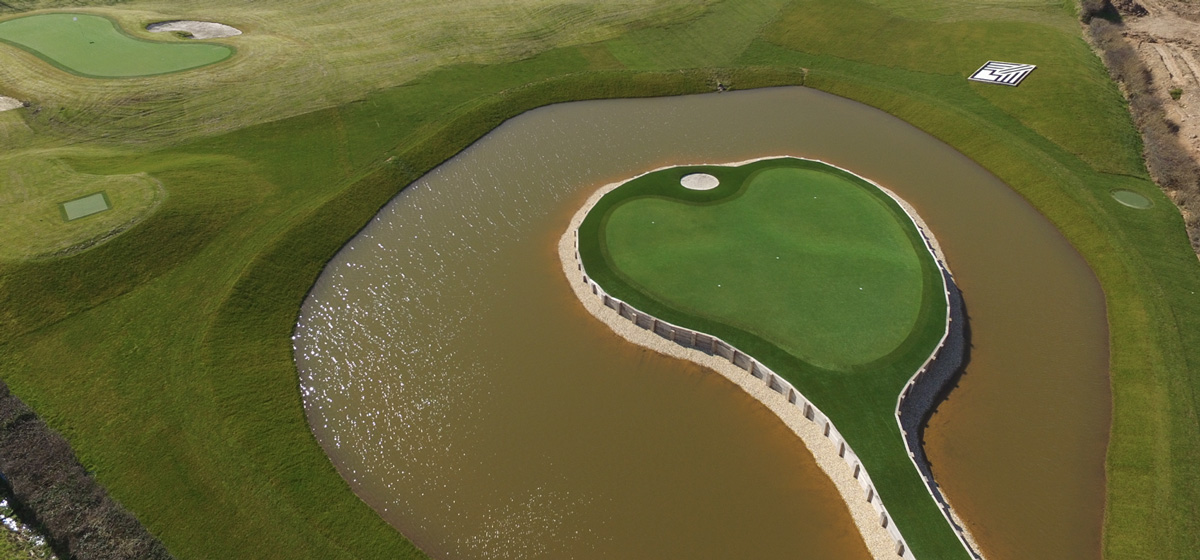 CASE STUDY  3 Hole golf course for GARETH BALE professional football player for Real Madrid