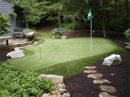 Backyard Golf Green Indiana